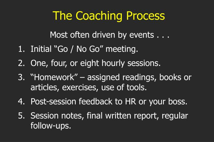 The Coaching Process