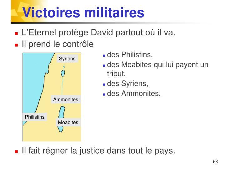 Victoires militaires