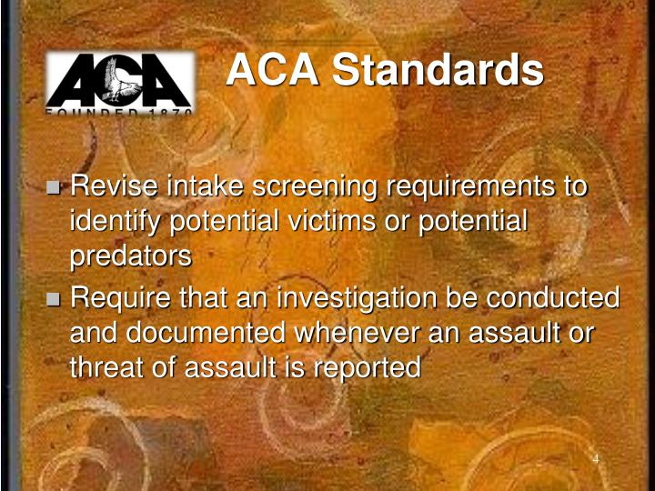 ACA Standards