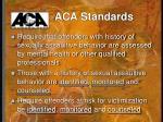 aca standards1