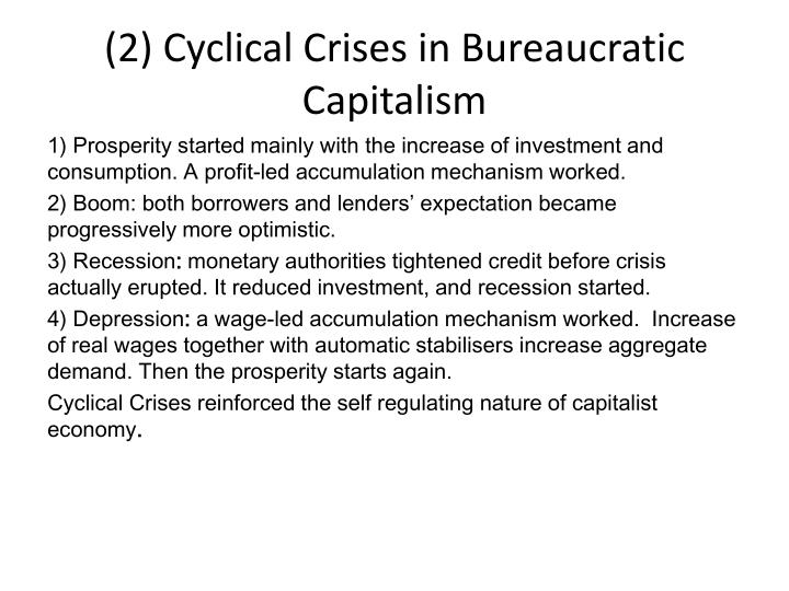 (2) Cyclical Crises