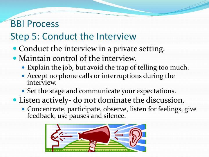 BBI Process
