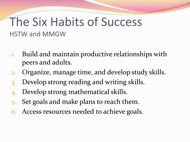 The Six Habits of Success