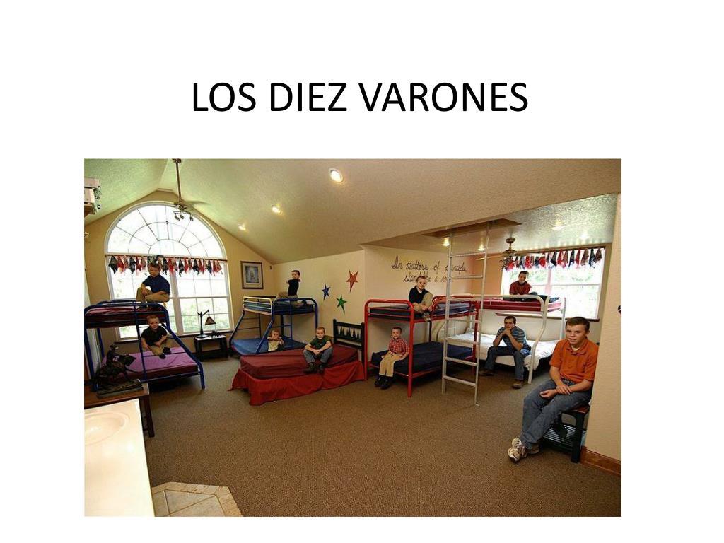 LOS DIEZ VARONES