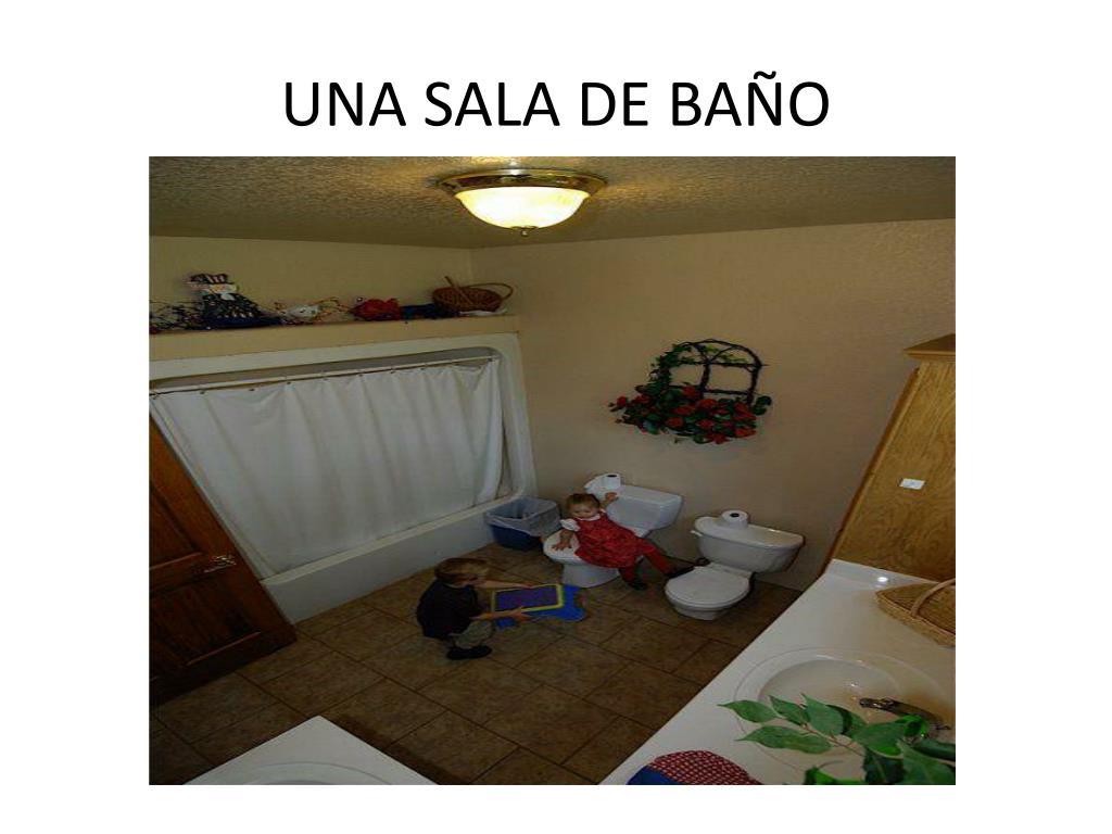 UNA SALA DE BAÑO