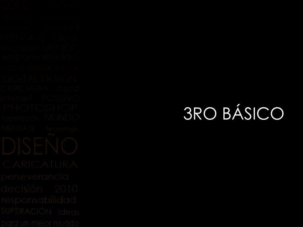 3RO BÁSICO