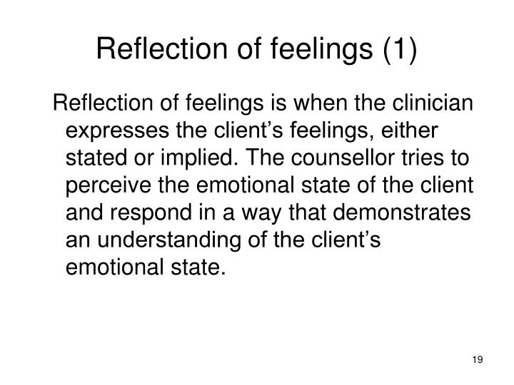 individual counseling essay
