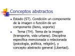 conceptos abstractos1