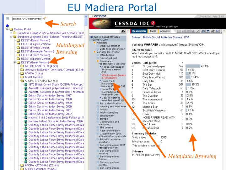 EU Madiera Portal