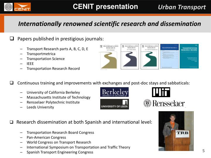 CENIT presentation