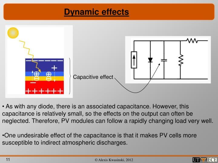 Dynamic effects