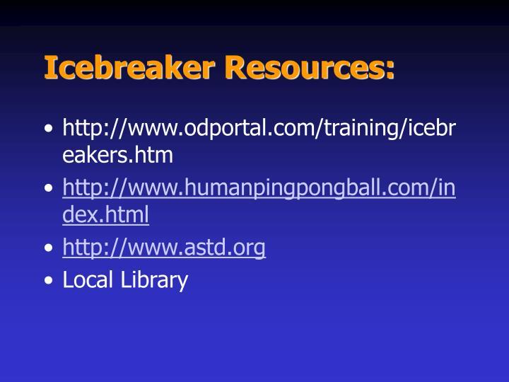 Icebreaker Resources: