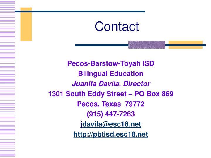 Pecos-Barstow-Toyah ISD