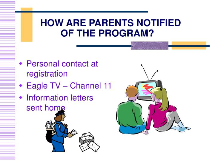 Personal contact at registration