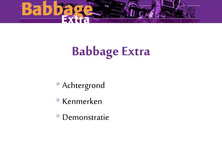 Babbage extra1