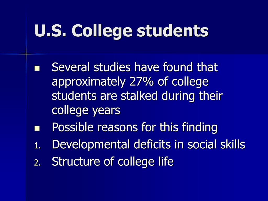 U.S. College students