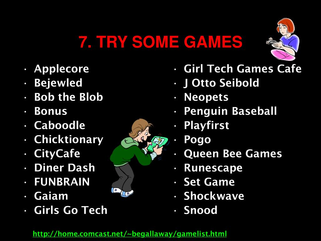 Girl Tech Games Cafe