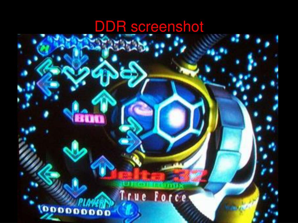 DDR screenshot
