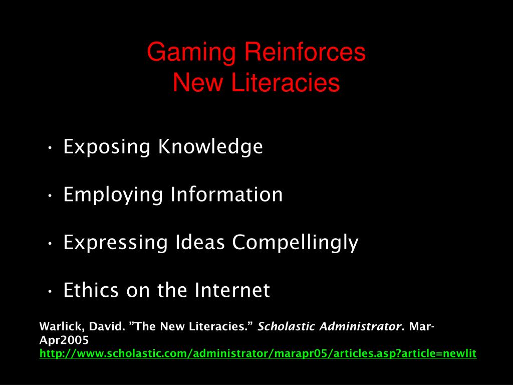 Gaming Reinforces