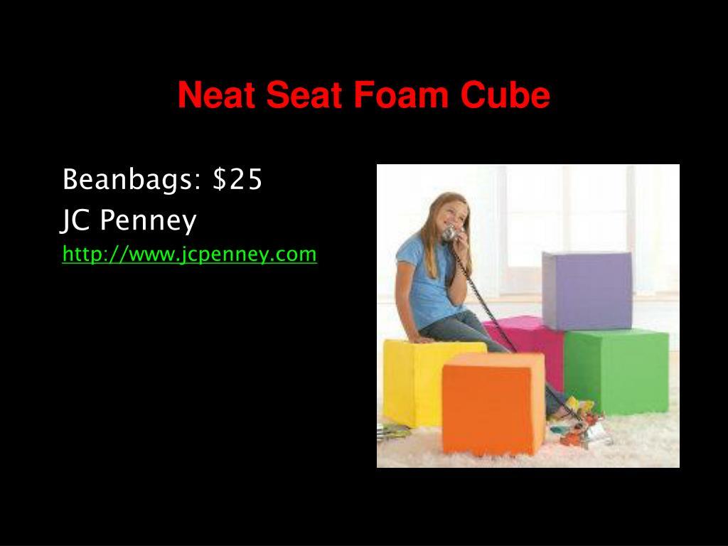 Neat Seat Foam Cube