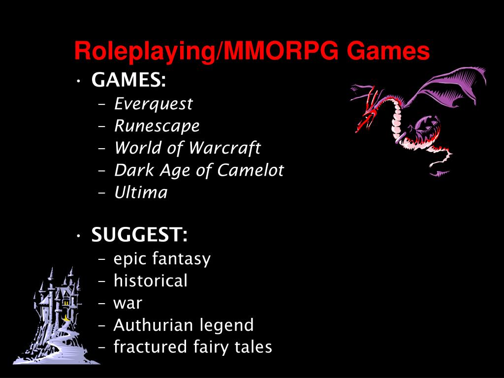 Roleplaying/MMORPG Games