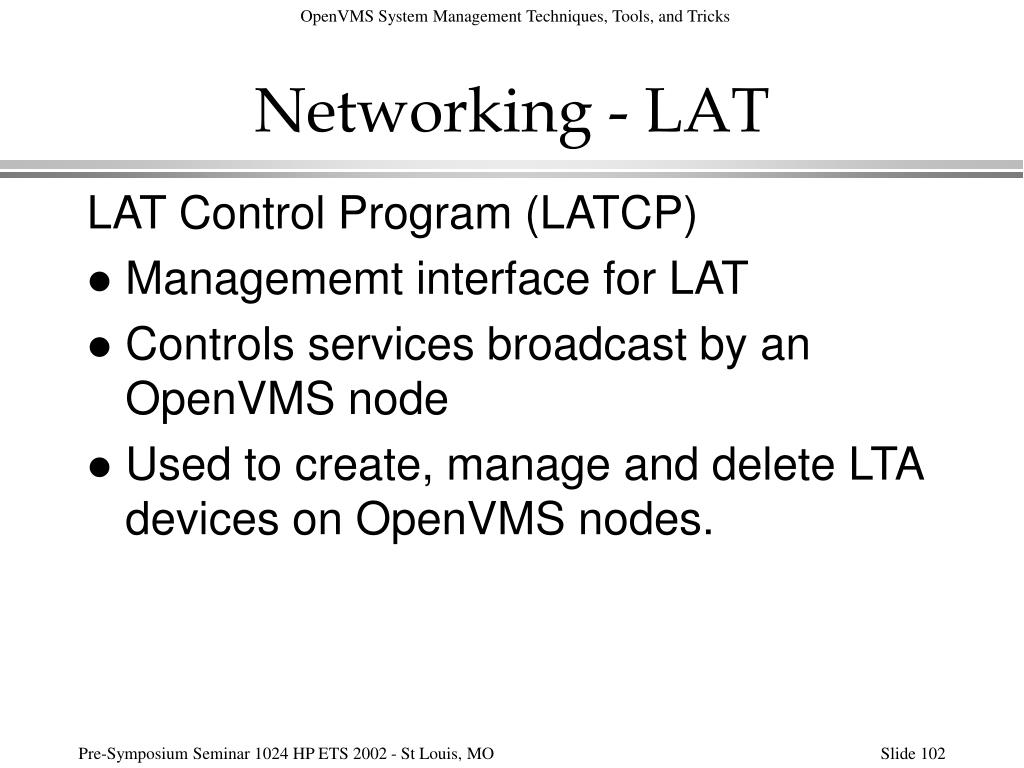 Networking - LAT