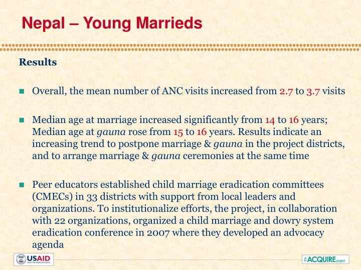 Nepal – Young Marrieds