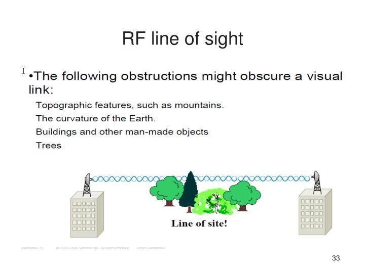 RF line of sight
