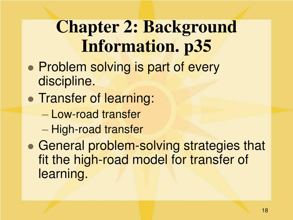 Chapter 2: Background Information. p35