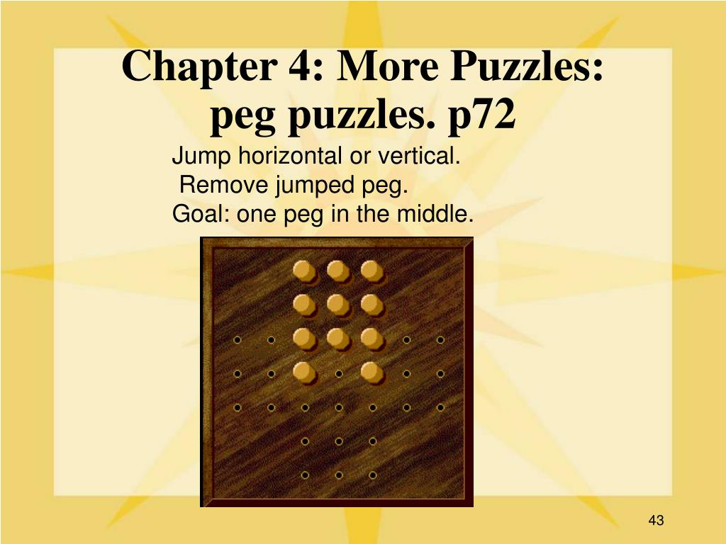Chapter 4: More Puzzles:
