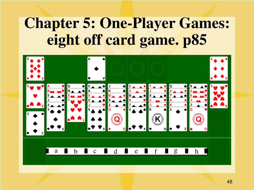 Chapter 5: One-Player Games: