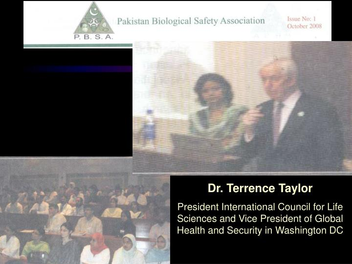 Dr. Terrence Taylor