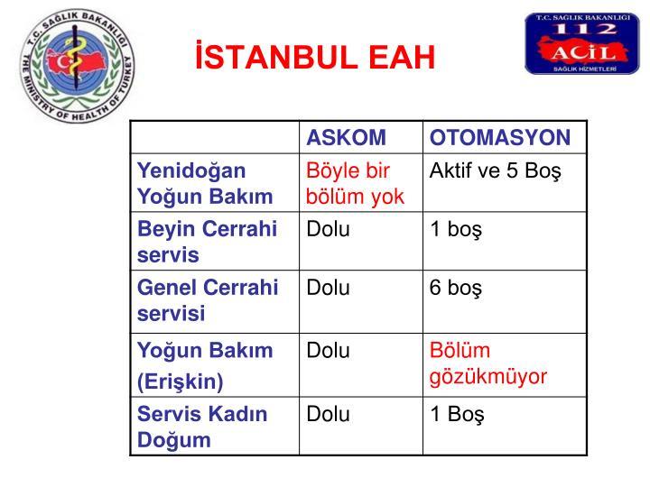 İSTANBUL EAH