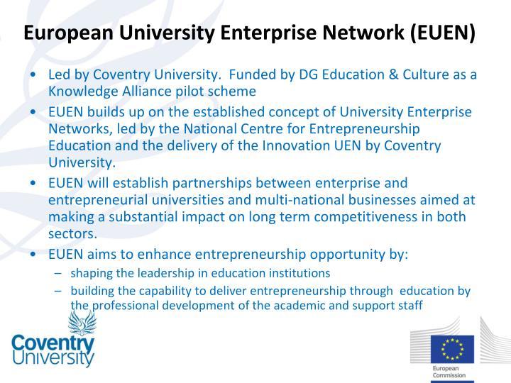 European University Enterprise Network (EUEN)