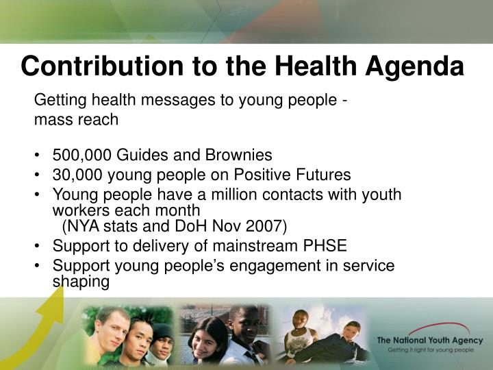 Contribution to the Health Agenda
