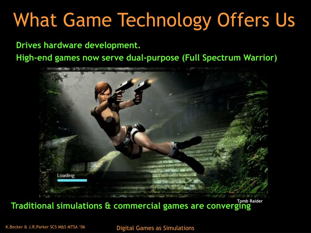 What Game Technology Offers Us