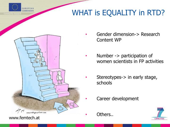 WHAT is EQUALITY in RTD?