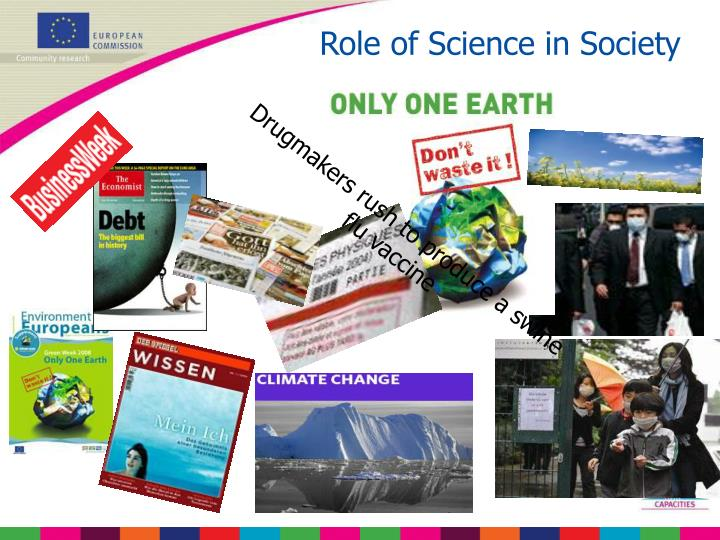 Role of Science in Society