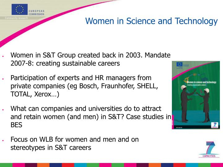 Women in Science and Technology
