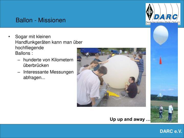 Ballon - Missionen