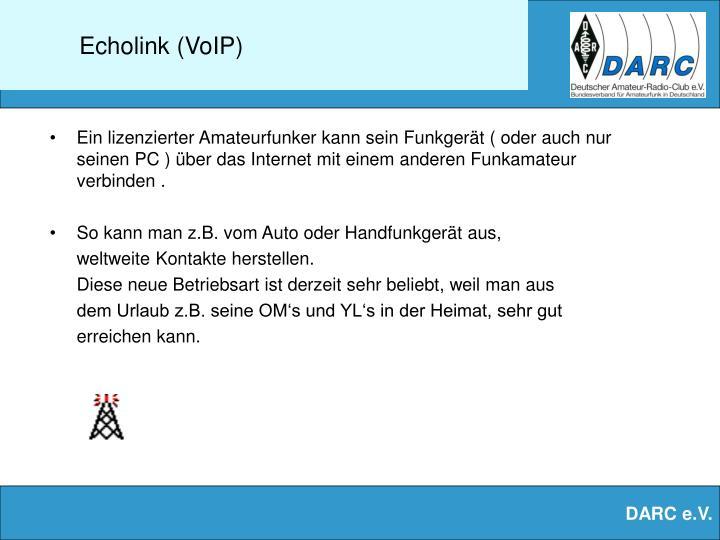 Echolink (VoIP)