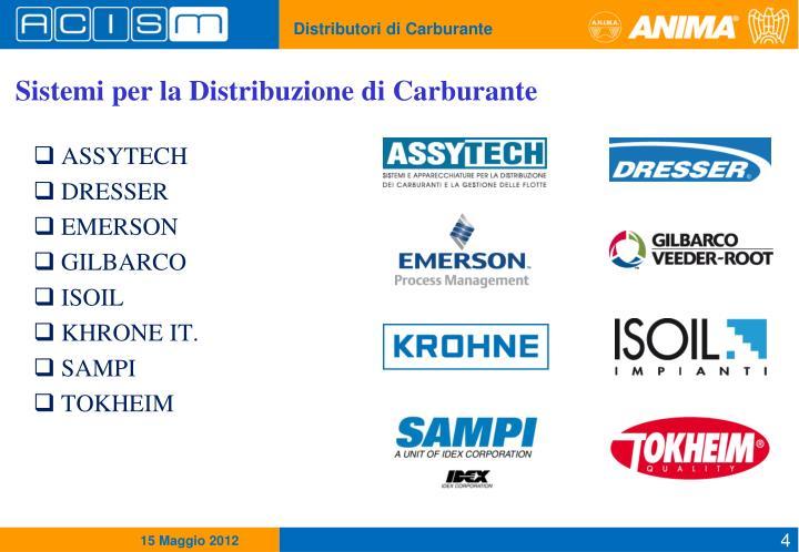 Sistemi per la Distribuzione di Carburante