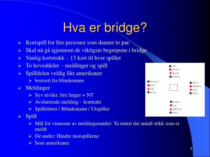 Hva er bridge?