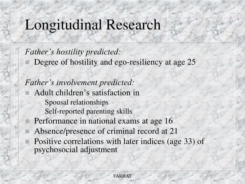 Longitudinal Research