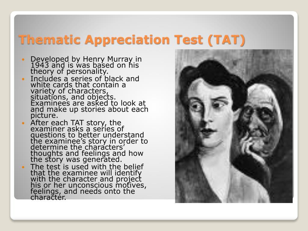 Thematic Appreciation Test (TAT)