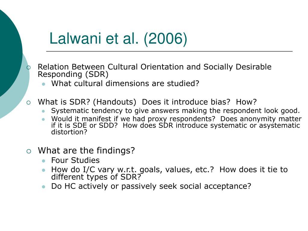 Lalwani et al. (2006)