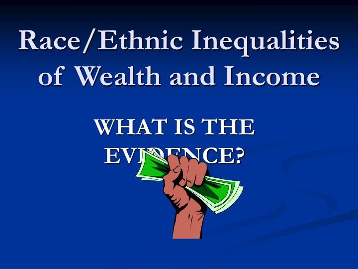 Ethnic Inequalities 118