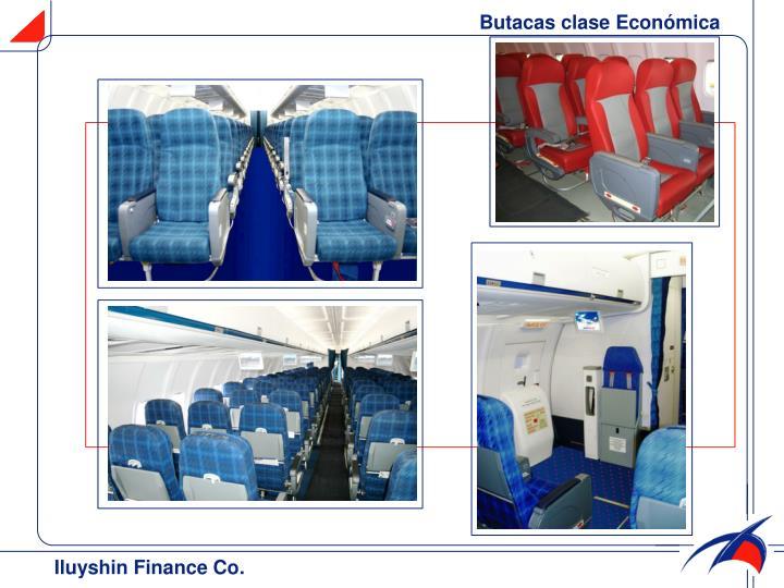 Butacas clase Económica