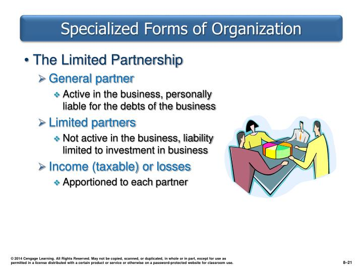 Specialized Forms of Organization