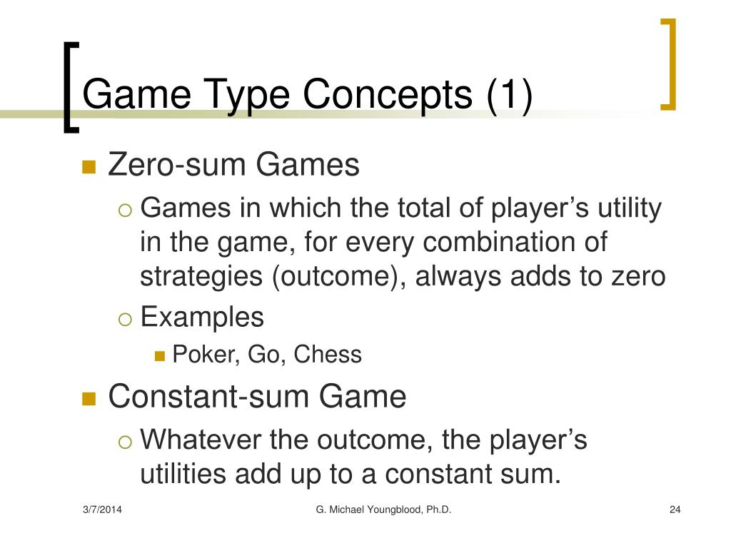 Game Type Concepts (1)